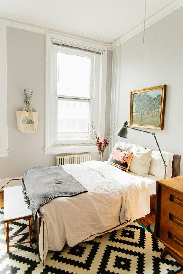 Фотография: Спальня в стиле Скандинавский, Декор интерьера, Хранение, Декор дома, Советы – фото на INMYROOM