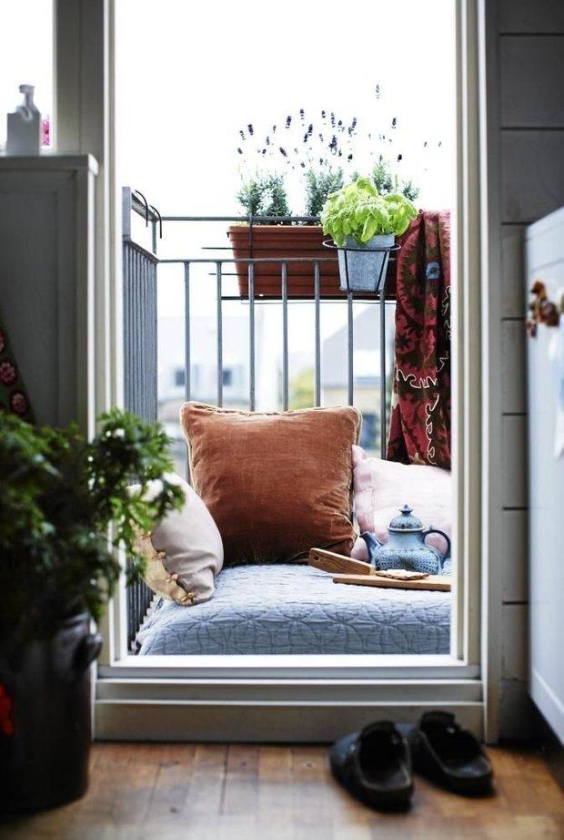 Фотография: Балкон в стиле Восточный, Советы – фото на INMYROOM