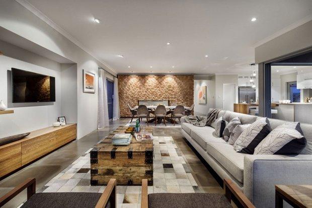 Фотография: Гостиная в стиле Лофт, Квартира, Дома и квартиры, Перепланировка – фото на INMYROOM