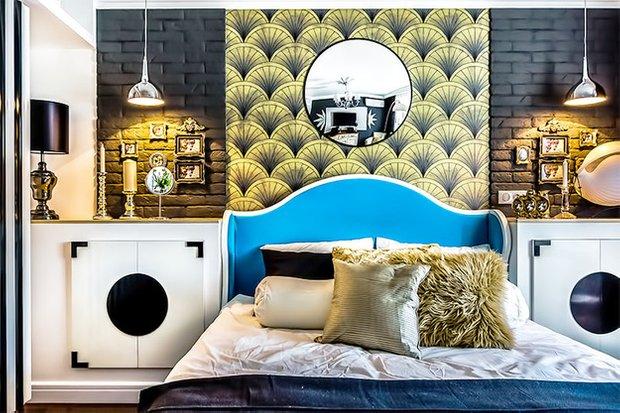 Фотография: Спальня в стиле Эклектика, Декор интерьера, Интерьер комнат, Ар-деко – фото на INMYROOM