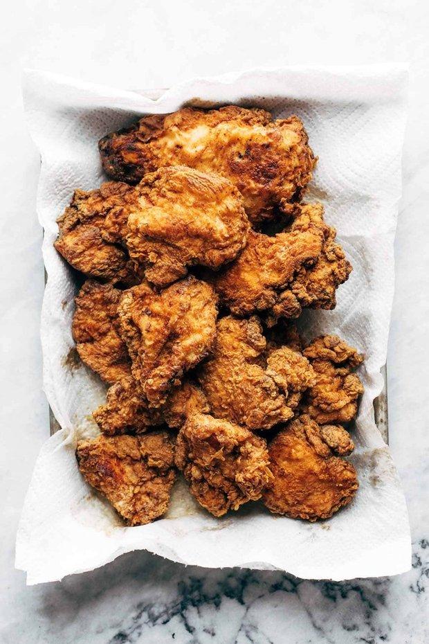 Фотография:  в стиле , Основное блюдо, Жарить, Сэндвич, Кулинарные рецепты, 30 минут, Американская кухня, Средняя сложность, Курица, Куриная грудка – фото на INMYROOM