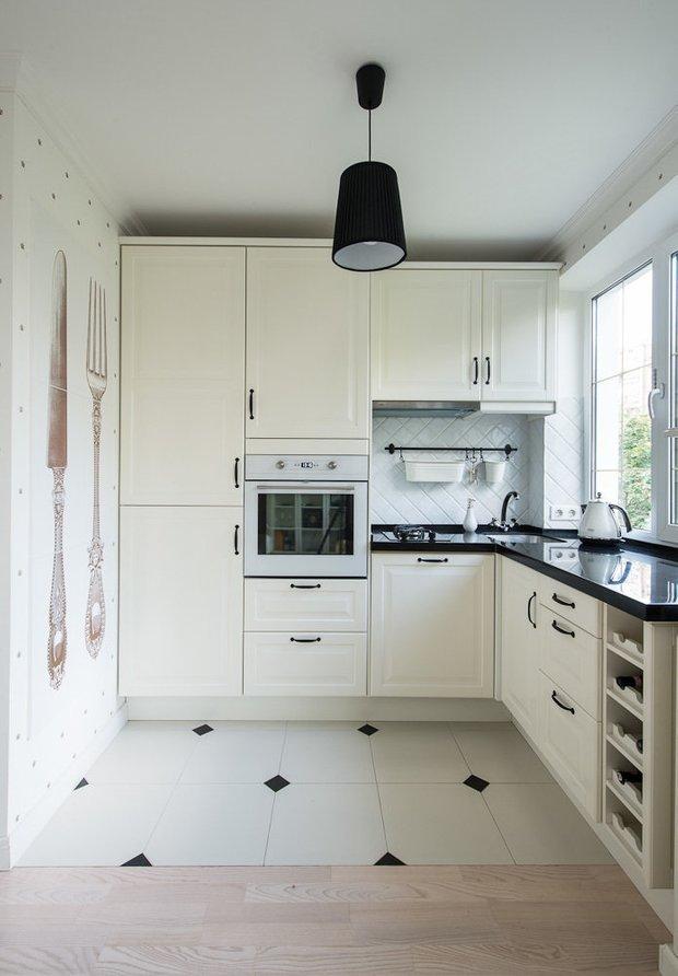 Фотография: Кухня и столовая в стиле Скандинавский, Современный, Перепланировка, Finish – фото на INMYROOM