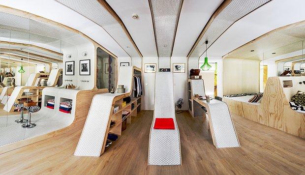 Фотография: Гардеробная в стиле Эко, Декор интерьера – фото на INMYROOM