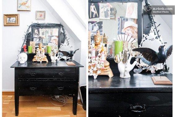 Фотография: Гостиная в стиле Прованс и Кантри, Декор интерьера, Малогабаритная квартира, Квартира, Дома и квартиры, Airbnb – фото на INMYROOM