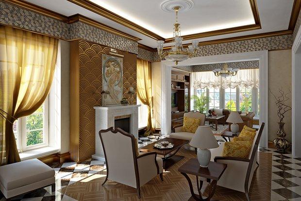 Фотография: Гостиная в стиле , Стиль жизни, Советы – фото на INMYROOM
