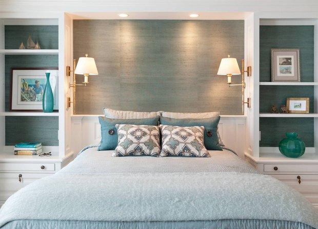Фотография: Спальня в стиле Прованс и Кантри, Малогабаритная квартира, Советы, Виктория Пашинская – фото на INMYROOM