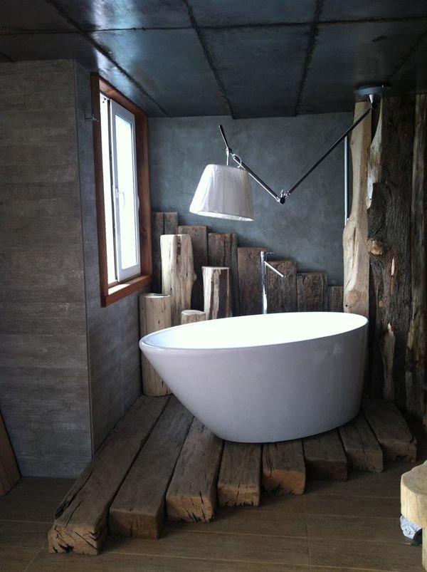 Фотография: Ванная в стиле Лофт, Мебель и свет, Стиль жизни, Советы – фото на INMYROOM