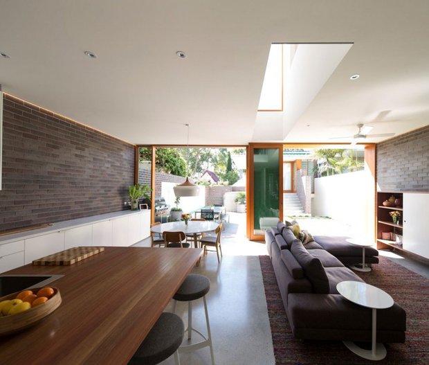 Фотография: Кухня и столовая в стиле Лофт, Квартира, Дома и квартиры, Перепланировка – фото на INMYROOM
