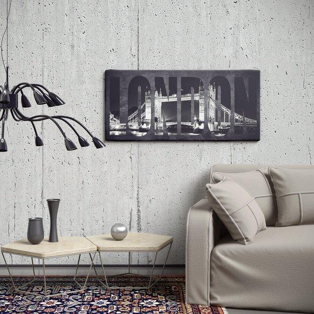 Фотография: Гостиная в стиле Лофт, Современный, Классический, Декор интерьера, Декор дома, Цвет в интерьере, Минимализм, Стены, Картины, Ретро, Модерн – фото на InMyRoom.ru