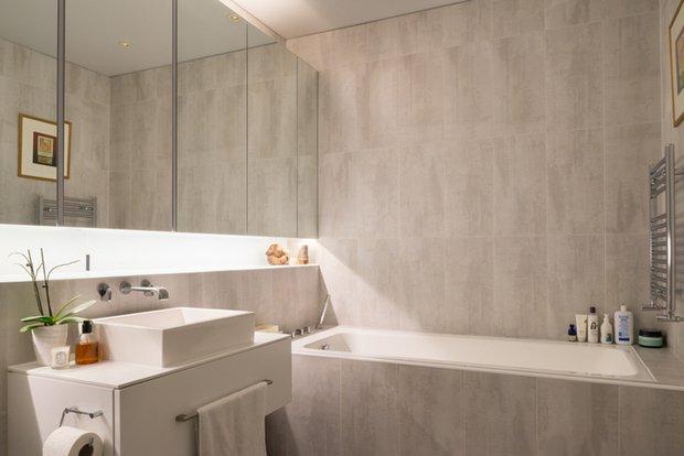 Фотография: Ванная в стиле Современный, Лофт, Квартира, Дома и квартиры, Проект недели – фото на INMYROOM
