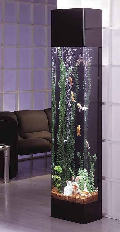 Фотография: Декор в стиле Современный, Хай-тек, Декор интерьера, Малогабаритная квартира, Мебель и свет, Дом и дача, аквариум в интерьере, аквариум – фото на INMYROOM