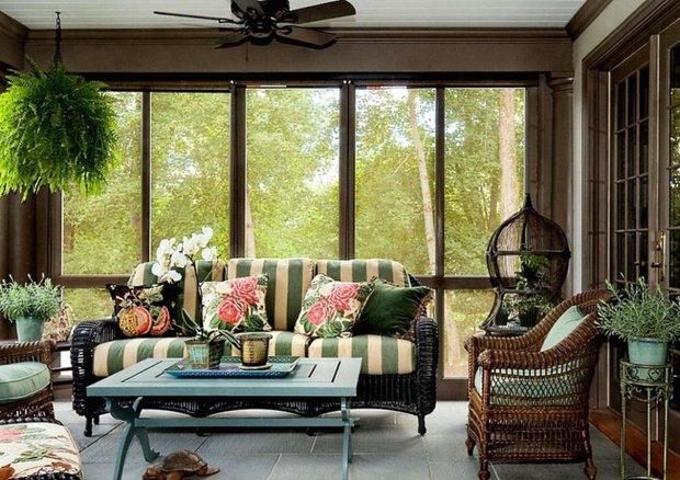 Фотография: Гостиная в стиле Прованс и Кантри, Декор интерьера – фото на INMYROOM