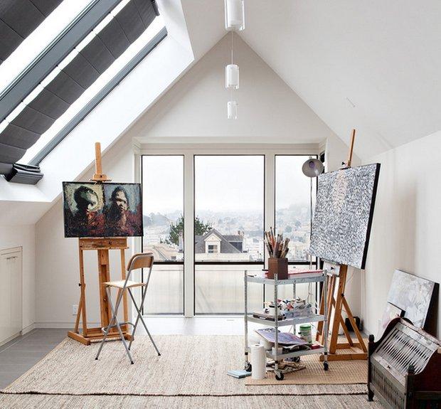 Фотография: Прочее в стиле , Дом, Чердак, Мансарда – фото на InMyRoom.ru