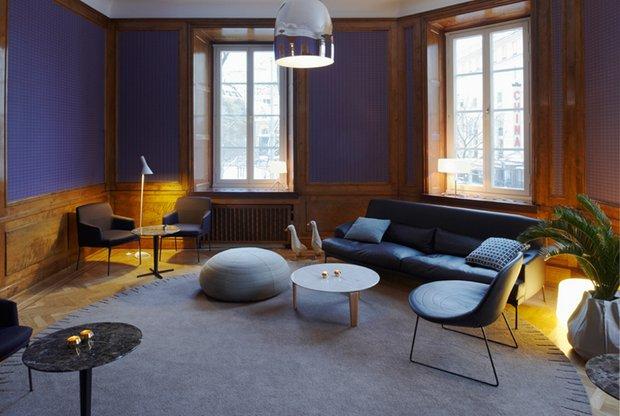 Фотография: Гостиная в стиле Современный, Дом, Дома и квартиры, Отель, Проект недели – фото на INMYROOM
