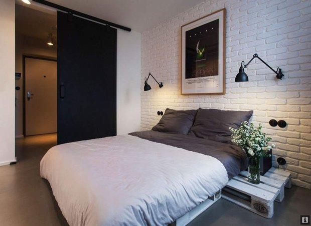 Фотография: Спальня в стиле Современный, Скандинавский, Декор интерьера, Квартира, Дома и квартиры, Индустриальный – фото на INMYROOM