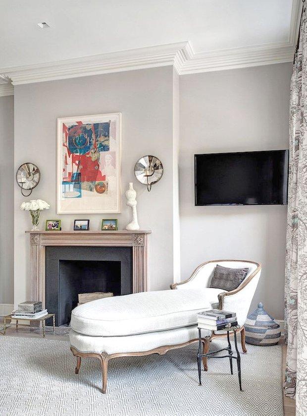 Фотография: Гостиная в стиле Прованс и Кантри, Декор интерьера, Декор, абстрактная живописть в интерьере, абстрактное искусство в интерьере – фото на INMYROOM