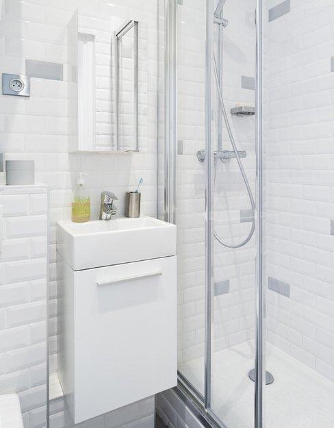 Фотография: Ванная в стиле Современный, Декор интерьера, Малогабаритная квартира, Квартира, Дома и квартиры – фото на INMYROOM