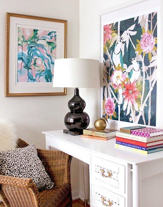 Фотография: Офис в стиле Классический, Современный, Текстиль, Стиль жизни, Советы, Цветы – фото на INMYROOM