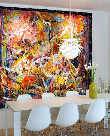 Фотография: Кухня и столовая в стиле Современный, Декор интерьера, Мебель и свет, Светильник – фото на INMYROOM
