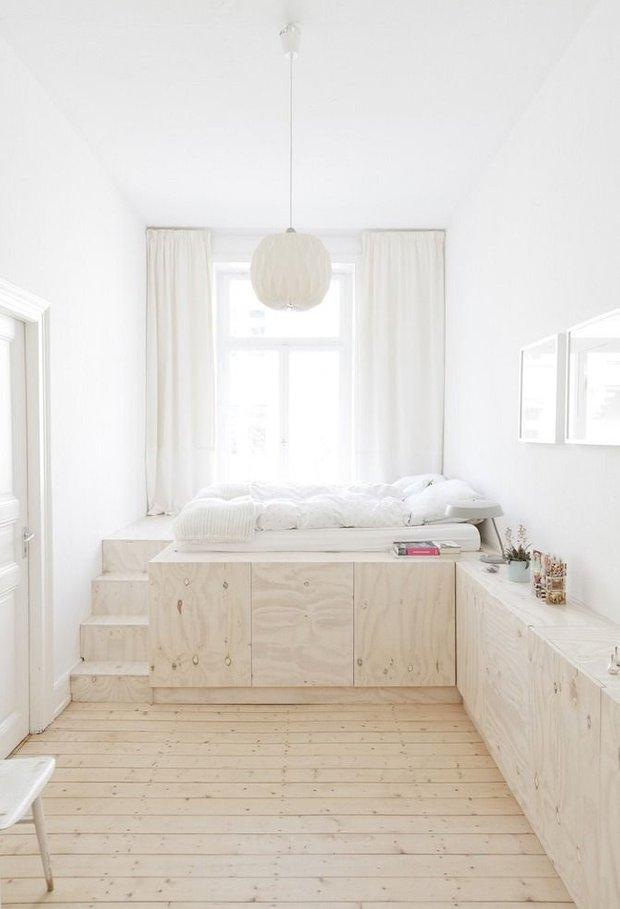 Фотография:  в стиле , Малогабаритная квартира, Советы, Мебель-трансформер, мебель для маленькой гостиной, Организация пространства, маленькая кухня, Степан Бугаев, кровать-трансформер, как выбрать освещение для комнаты, «Победа дизайна», система хранения в малогабаритке, ошибки в оформлении малогабаритки, обустройство маленького санузла, как визуально увеличить площадь малогабаритки – фото на INMYROOM