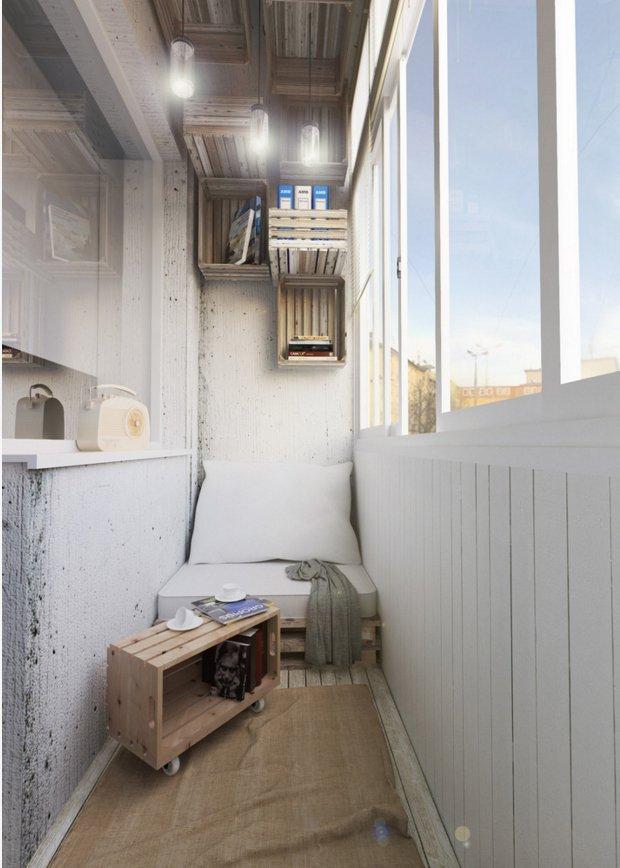 Фотография:  в стиле , Балкон, Гид – фото на INMYROOM