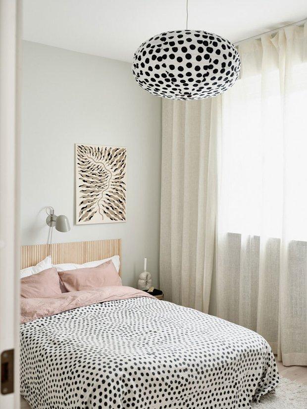 Фотография: Спальня в стиле Скандинавский, Декор интерьера, Квартира, Швеция, Белый, Стокгольм – фото на INMYROOM