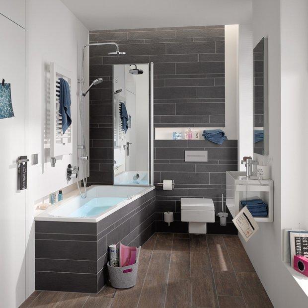 Фотография: Ванная в стиле Современный, Советы, Сантехника – фото на INMYROOM