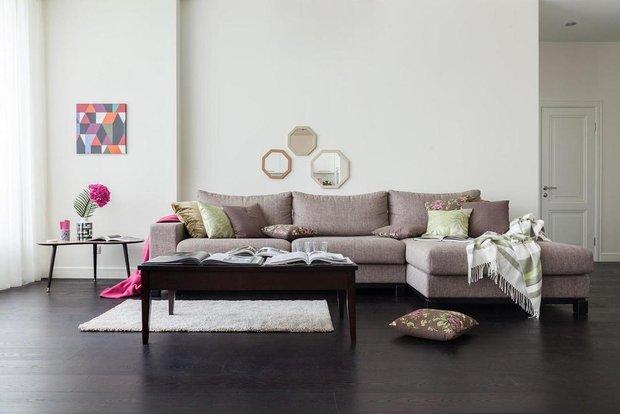 Фотография: Гостиная в стиле Современный, Скандинавский, Интервью, Woodi Furniture, Полина Балашова – фото на INMYROOM