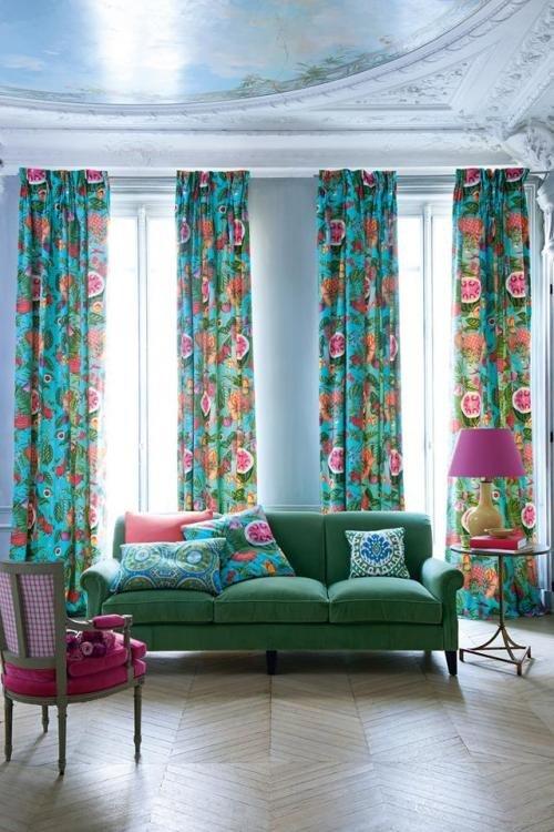 Фотография: Гостиная в стиле Прованс и Кантри, Декор интерьера, Текстиль, Окна – фото на INMYROOM