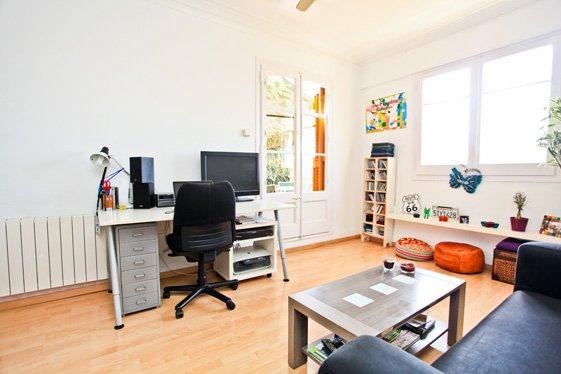 Фотография: Офис в стиле Скандинавский, Современный, Квартира, Дома и квартиры, Барселона – фото на INMYROOM