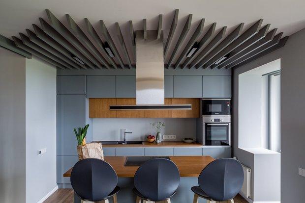 Фотография: Кухня и столовая в стиле Хай-тек, Советы, Ремонт на практике, Степан Бугаев, «Победа дизайна» – фото на INMYROOM
