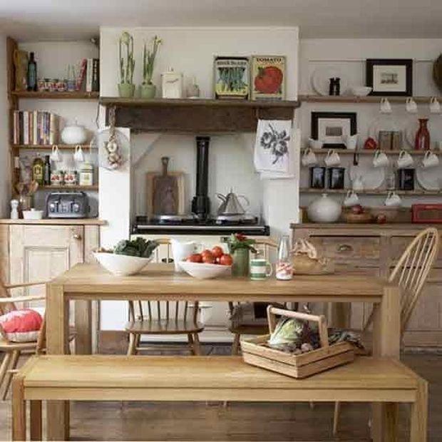 Фотография: Декор в стиле Скандинавский, Кухня и столовая, Прованс и Кантри, Декор интерьера, Квартира, Дом – фото на INMYROOM