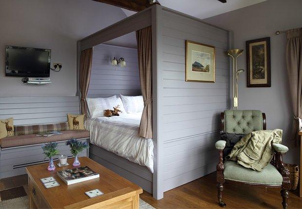 Фотография: Спальня в стиле Прованс и Кантри, Дом, Дома и квартиры, Дача – фото на INMYROOM
