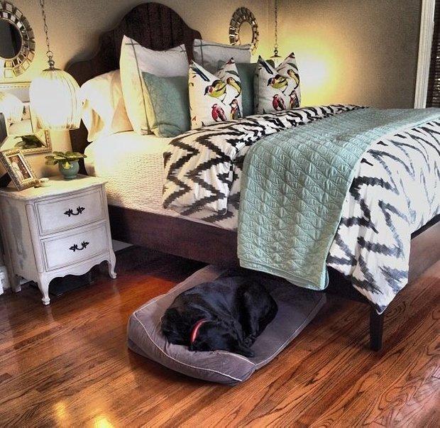 Фотография: Спальня в стиле Прованс и Кантри, Декор интерьера, Мебель и свет – фото на INMYROOM