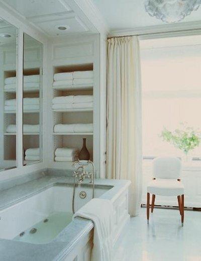 Фотография: Ванная в стиле Классический, Скандинавский, Современный, Декор интерьера, DIY, Дом, Системы хранения – фото на INMYROOM
