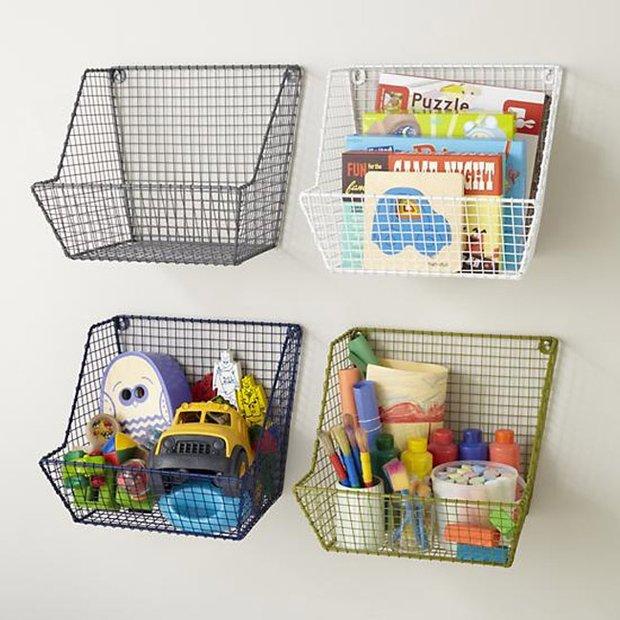 Фотография: Декор в стиле Современный, Детская, Интерьер комнат, Системы хранения – фото на INMYROOM