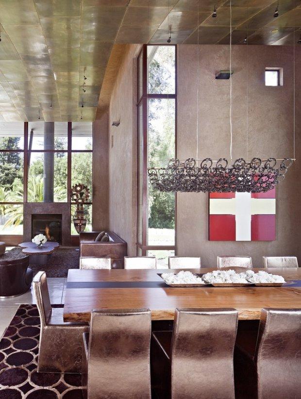 Фотография: Кухня и столовая в стиле Современный, Декор интерьера, Архитектурные объекты, Потолок – фото на InMyRoom.ru