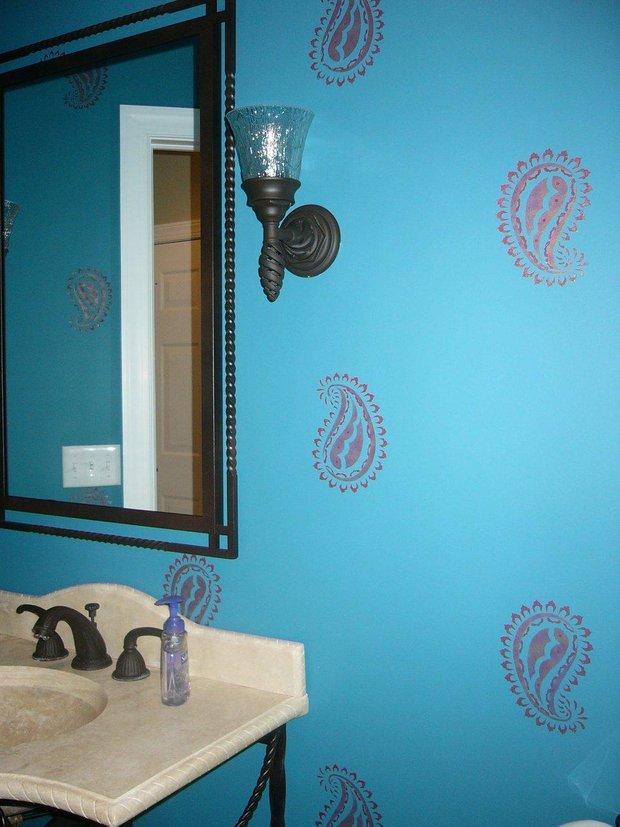 Фотография: Ванная в стиле Прованс и Кантри, Современный, Восточный, Декор интерьера, Декор дома, Ковер – фото на INMYROOM