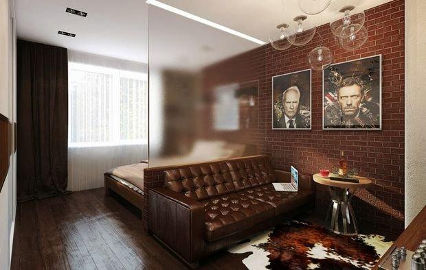 Фотография: Флористика в стиле , Декор интерьера, Малогабаритная квартира, Квартира, Студия, Планировки, Мебель и свет – фото на INMYROOM