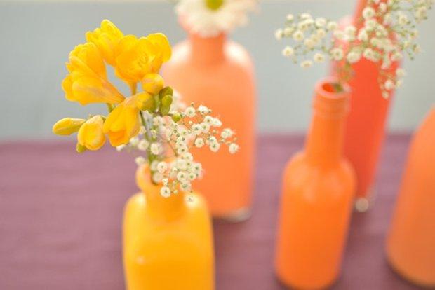 Фотография: Флористика в стиле , Декор интерьера, DIY, Цвет в интерьере, Оранжевый, Вазы – фото на INMYROOM