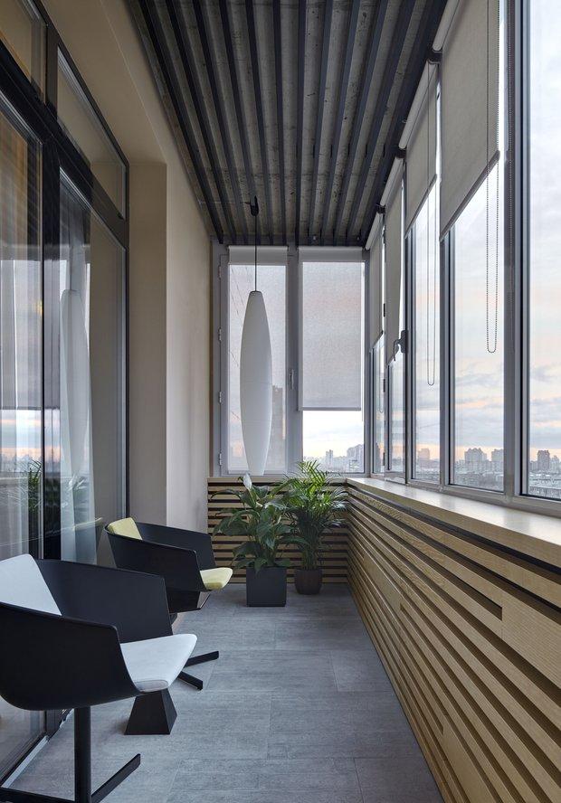 Фотография: Балкон в стиле Современный, Квартира, Проект недели, Москва, Макс Касымов – фото на INMYROOM