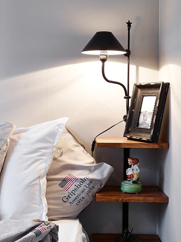 Фотография: Спальня, Декор в стиле Скандинавский, Малогабаритная квартира, Квартира, Цвет в интерьере, Дома и квартиры, Белый, Гетеборг, 2 комнаты, 40-60 метров – фото на InMyRoom.ru