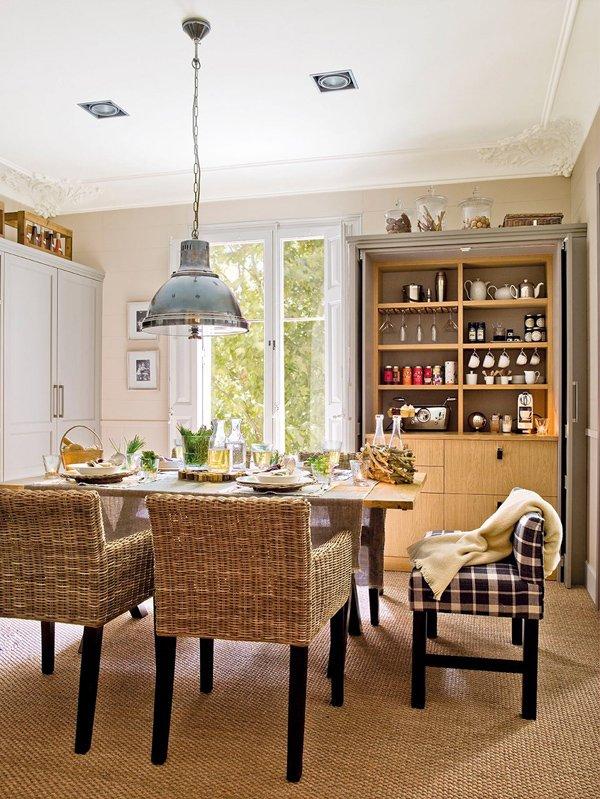 Фотография: Кухня и столовая в стиле , Интерьер комнат, Проект недели, Деревенский – фото на INMYROOM