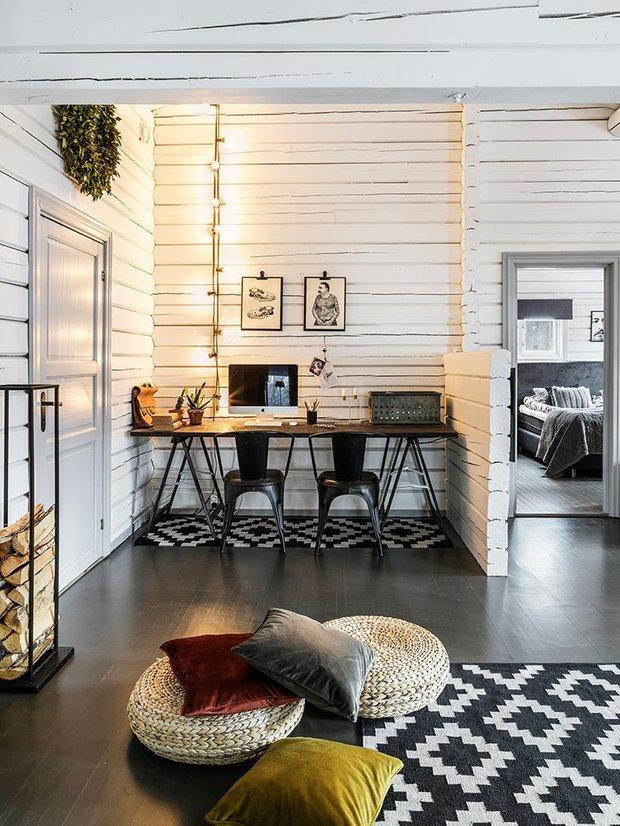 Фотография: Кабинет в стиле Скандинавский, Декор интерьера, Швеция, Дом и дача – фото на INMYROOM