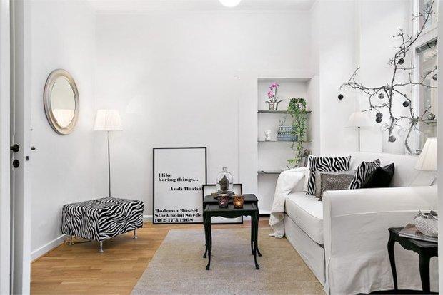 Фотография: Гостиная в стиле Классический, Скандинавский,  – фото на INMYROOM
