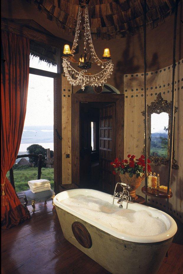 Фотография: Ванная в стиле Прованс и Кантри, Классический, Современный, Дом, Дома и квартиры – фото на INMYROOM