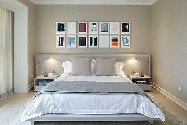 Фотография: Спальня в стиле Лофт, Современный, Декор интерьера, Декор дома, Стены, Картины, Постеры – фото на INMYROOM