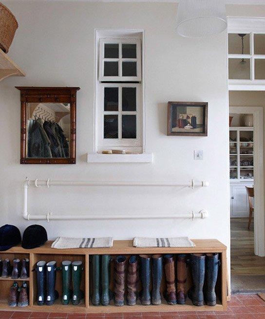 Фотография: Прихожая в стиле Прованс и Кантри, Современный, Интерьер комнат, Системы хранения – фото на INMYROOM