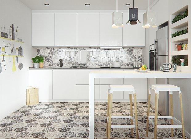 Фотография: Кухня и столовая в стиле Скандинавский, Декор интерьера, Советы – фото на INMYROOM