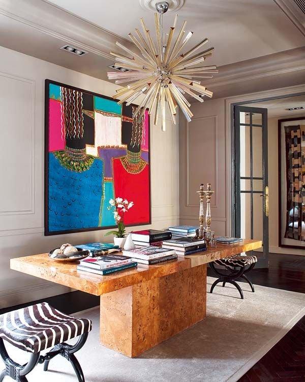 Фотография: Гостиная в стиле , Классический, Декор интерьера, DIY, Мебель и свет, Советы, Люстра – фото на INMYROOM
